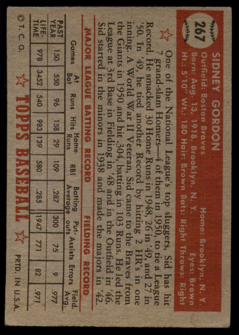 1952-Topps-Baseball-241-407-Complete-your-set-Pick-your-card thumbnail 199