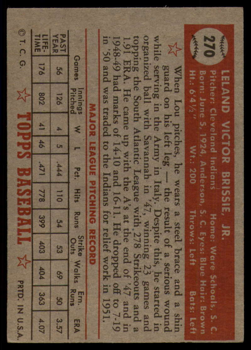 1952-Topps-Baseball-241-407-Complete-your-set-Pick-your-card thumbnail 211
