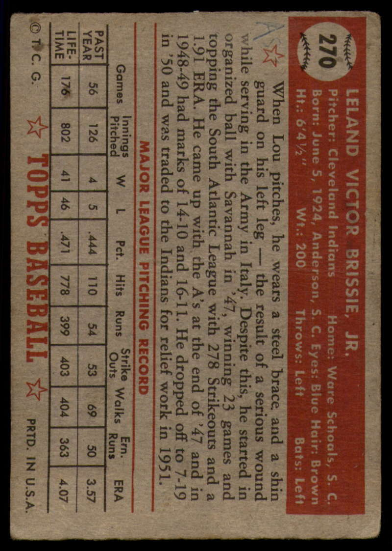 1952-Topps-Baseball-241-407-Complete-your-set-Pick-your-card thumbnail 213