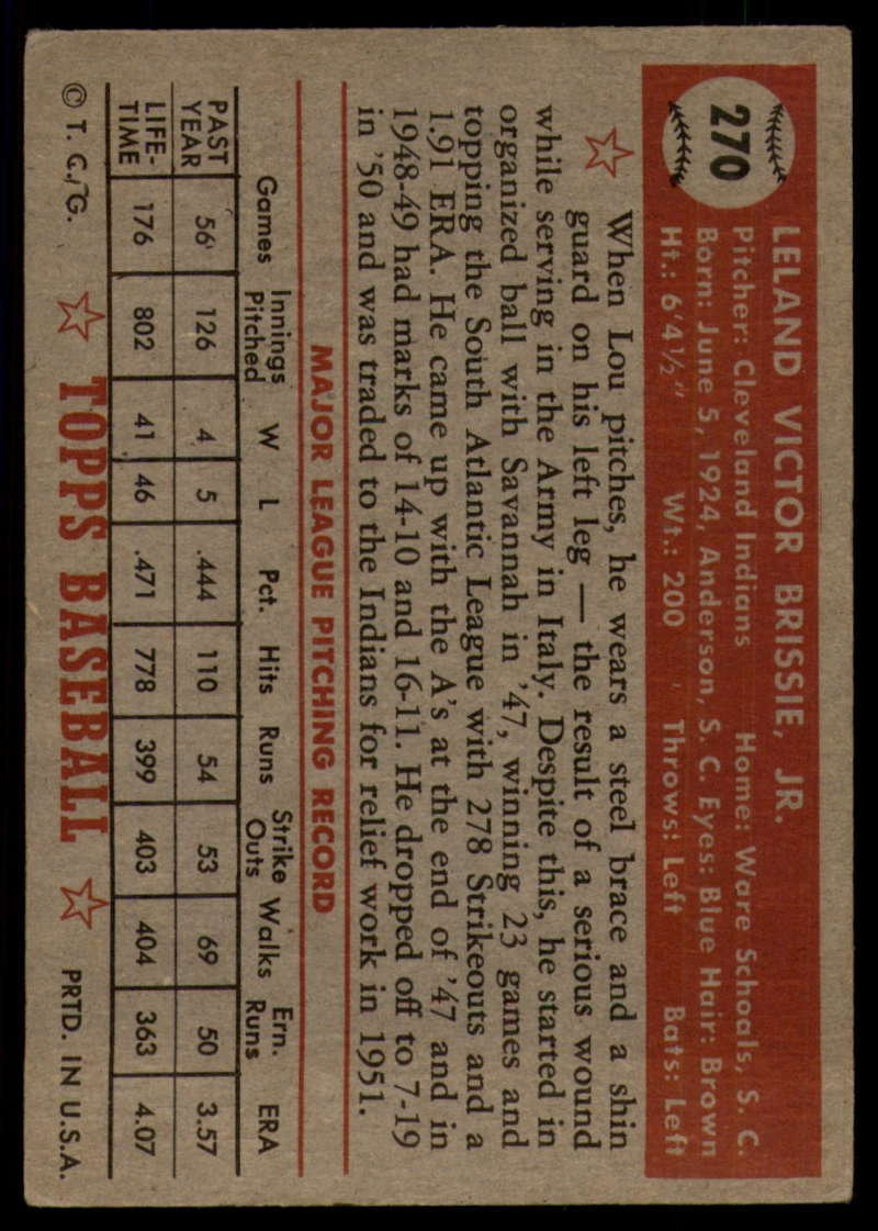 1952-Topps-Baseball-241-407-Complete-your-set-Pick-your-card thumbnail 215