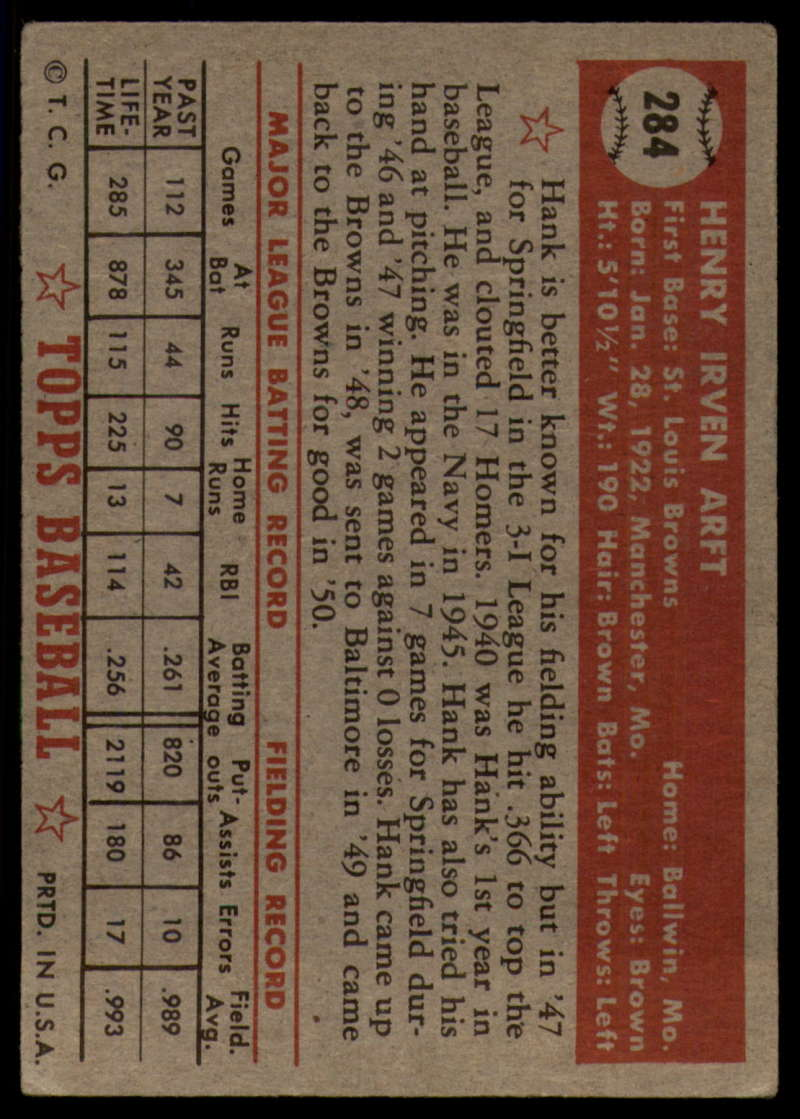 1952-Topps-Baseball-241-407-Complete-your-set-Pick-your-card thumbnail 229