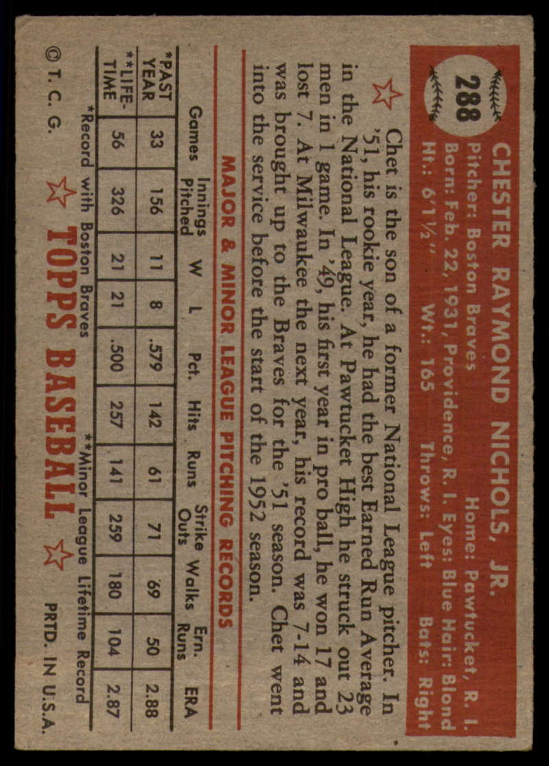 1952-Topps-Baseball-241-407-Complete-your-set-Pick-your-card thumbnail 235