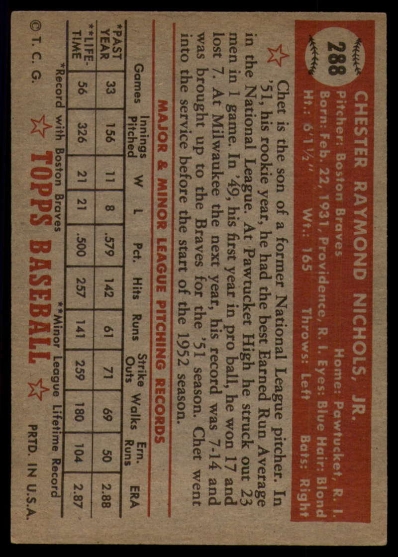 1952-Topps-Baseball-241-407-Complete-your-set-Pick-your-card thumbnail 237