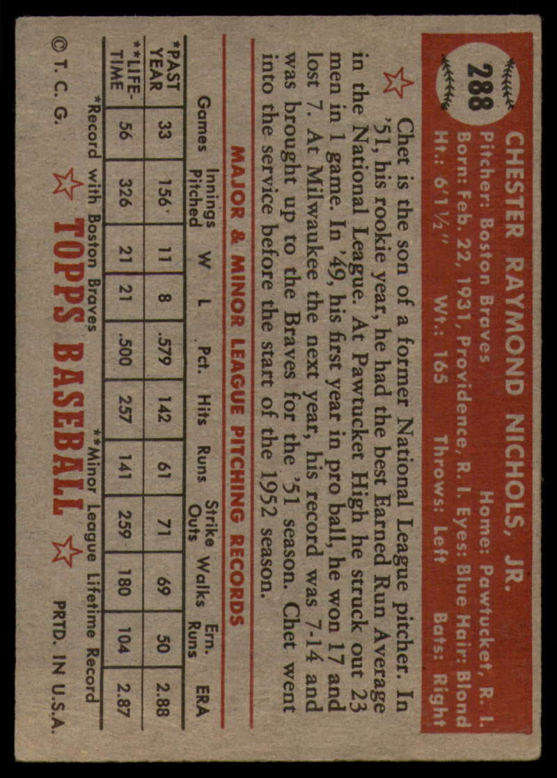 1952-Topps-Baseball-241-407-Complete-your-set-Pick-your-card thumbnail 239