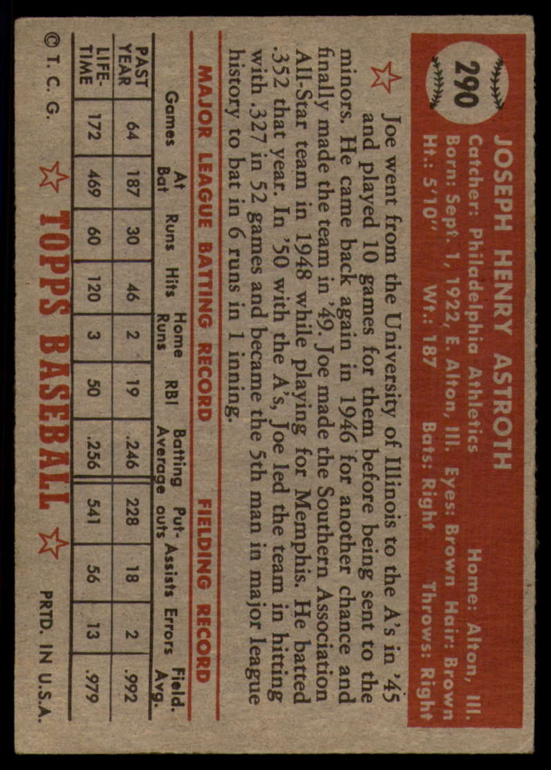 1952-Topps-Baseball-241-407-Complete-your-set-Pick-your-card thumbnail 241