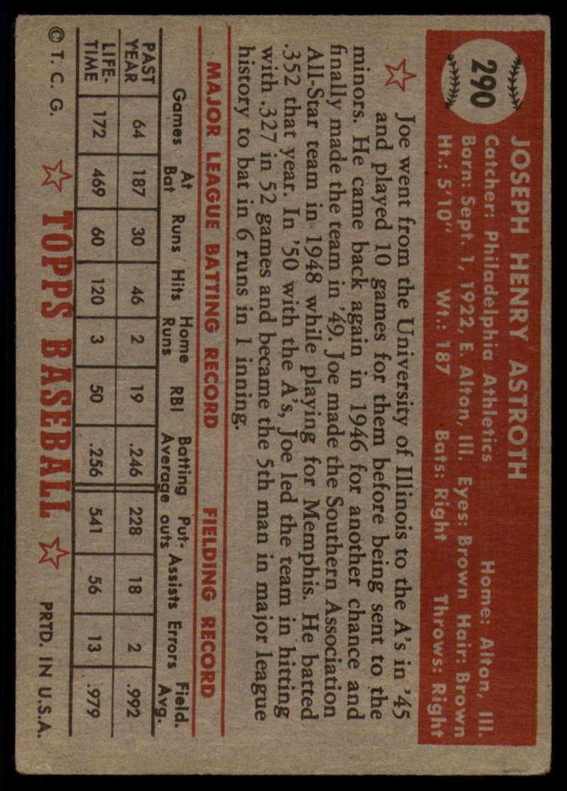 1952-Topps-Baseball-241-407-Complete-your-set-Pick-your-card thumbnail 243