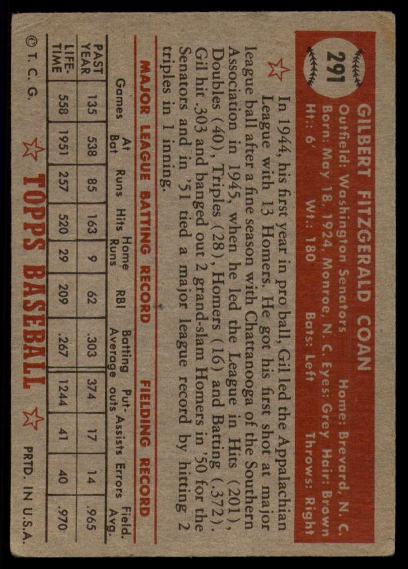 1952-Topps-Baseball-241-407-Complete-your-set-Pick-your-card thumbnail 245