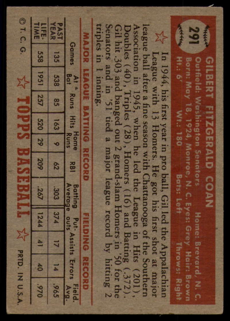 1952-Topps-Baseball-241-407-Complete-your-set-Pick-your-card thumbnail 247