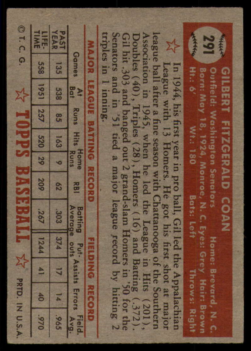 1952-Topps-Baseball-241-407-Complete-your-set-Pick-your-card thumbnail 249