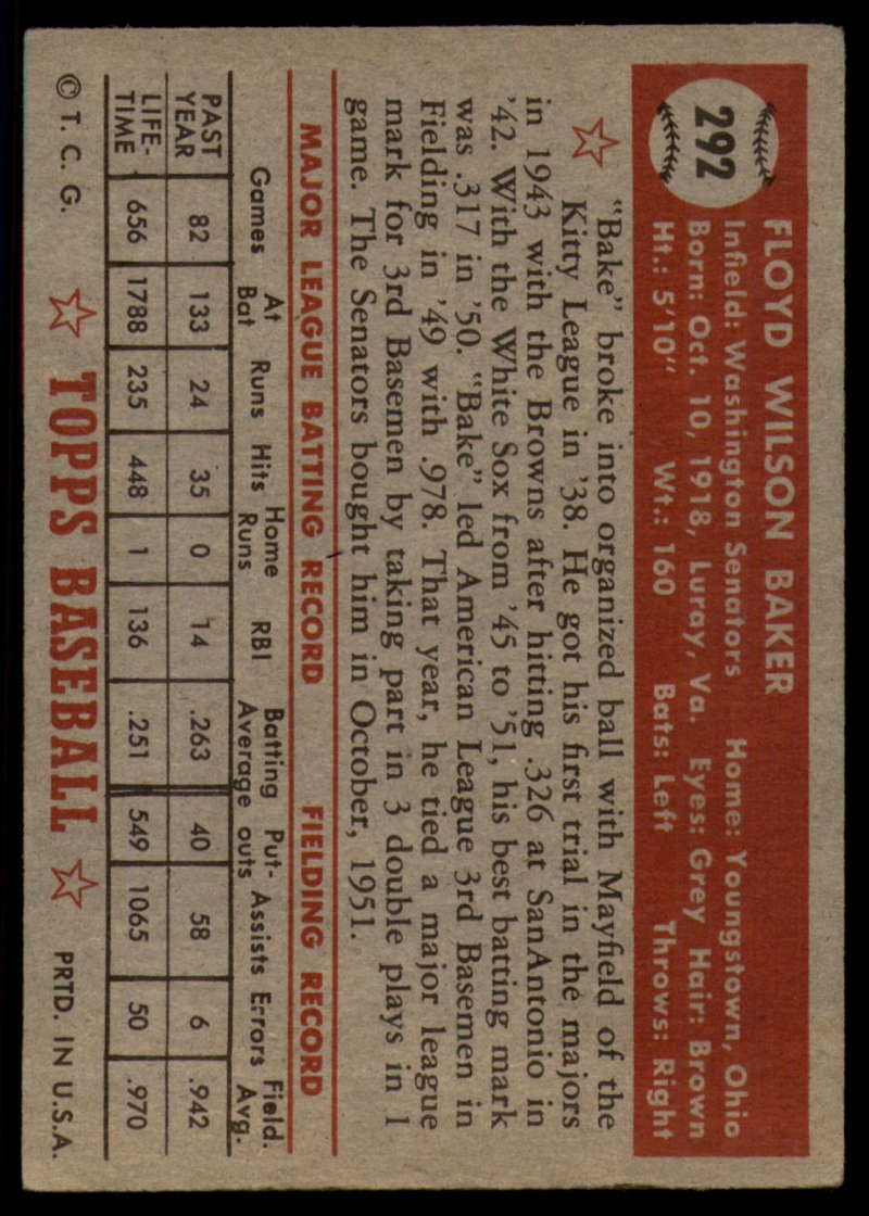1952-Topps-Baseball-241-407-Complete-your-set-Pick-your-card thumbnail 251