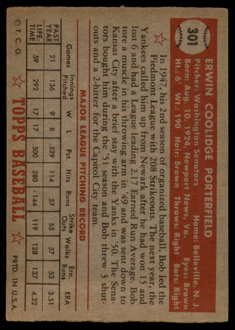 1952-Topps-Baseball-241-407-Complete-your-set-Pick-your-card thumbnail 259