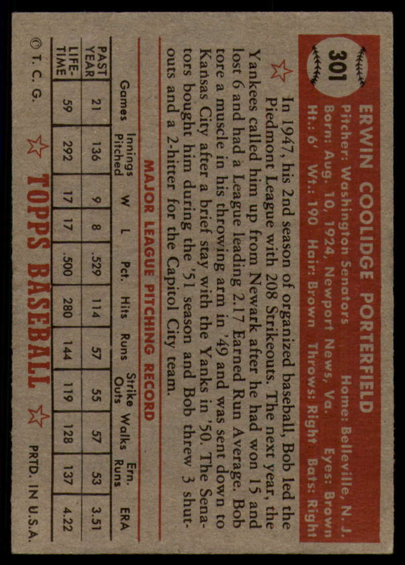 1952-Topps-Baseball-241-407-Complete-your-set-Pick-your-card thumbnail 261