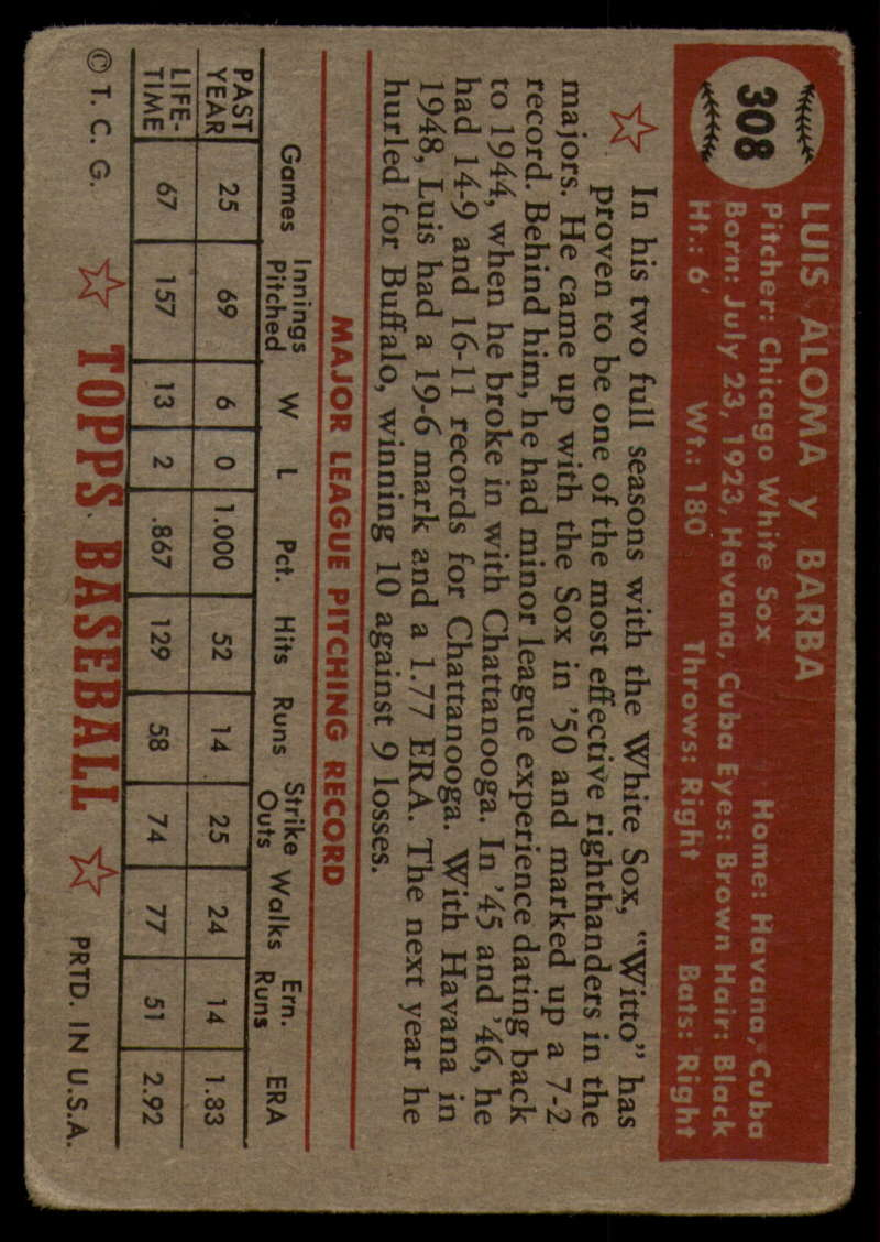 1952-Topps-Baseball-241-407-Complete-your-set-Pick-your-card thumbnail 279
