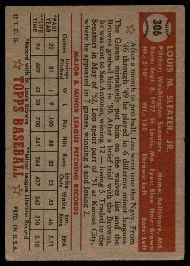 1952-Topps-Baseball-241-407-Complete-your-set-Pick-your-card thumbnail 277