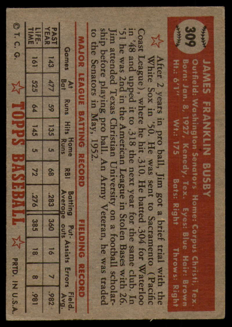 1952-Topps-Baseball-241-407-Complete-your-set-Pick-your-card thumbnail 281