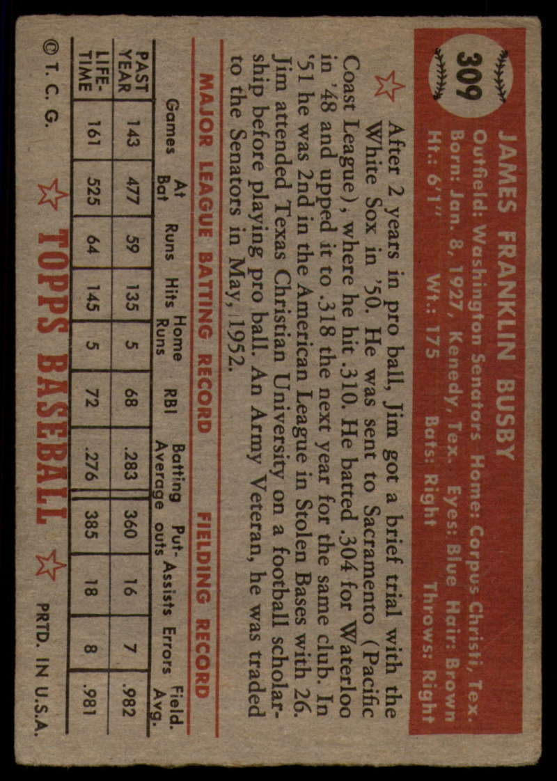 1952-Topps-Baseball-241-407-Complete-your-set-Pick-your-card thumbnail 283