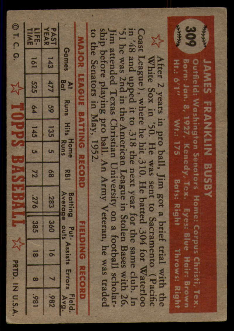 1952-Topps-Baseball-241-407-Complete-your-set-Pick-your-card thumbnail 285