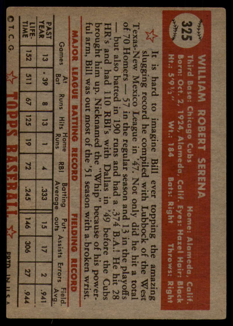 1952-Topps-Baseball-241-407-Complete-your-set-Pick-your-card thumbnail 287