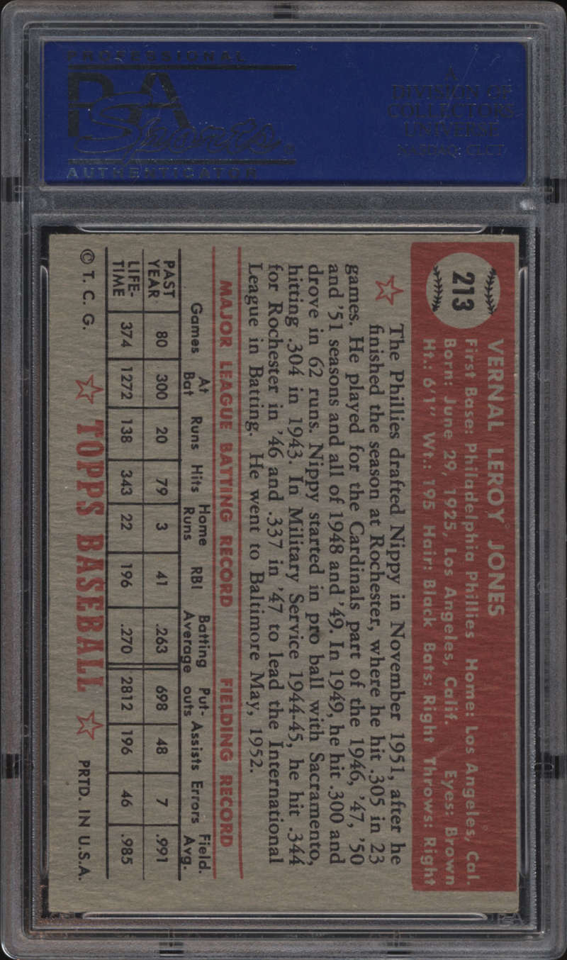 Pick your card. 1952 Topps Baseball PSA SGC Graded Complete your set