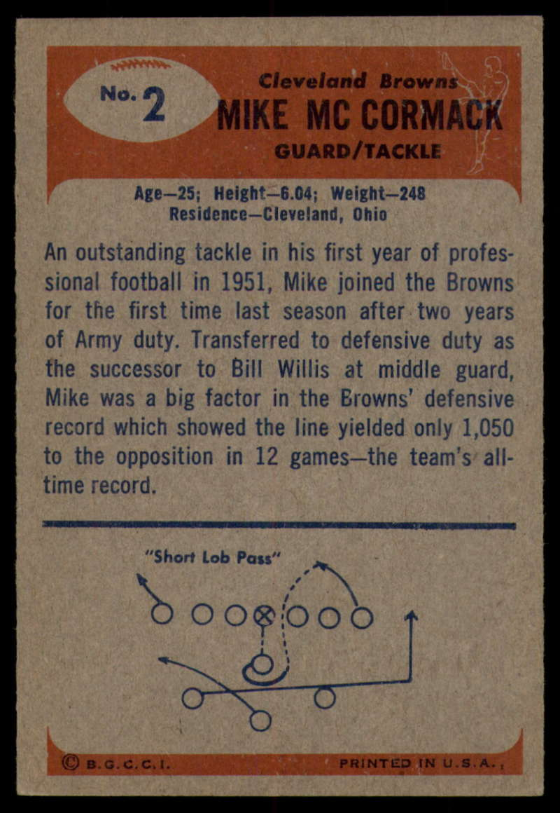 1955-Bowman-Football-1-70-Complete-your-set-Pick-your-card thumbnail 9
