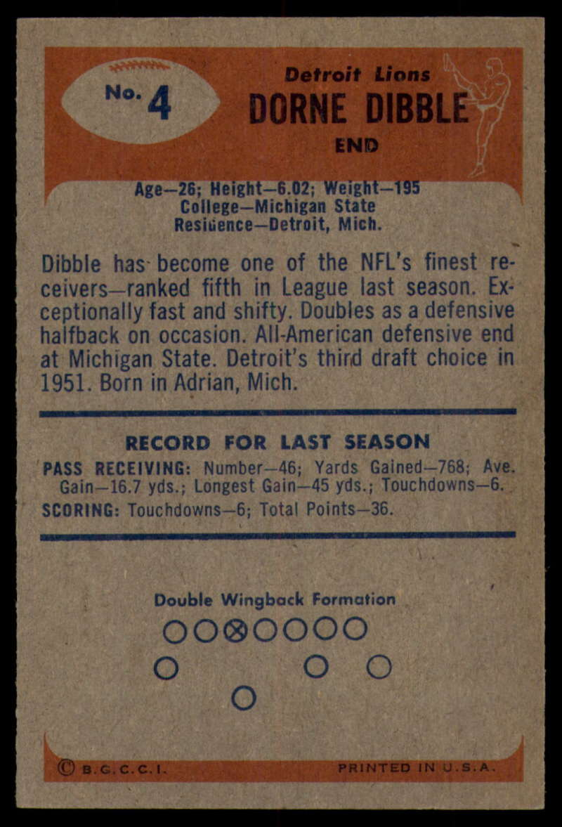 1955-Bowman-Football-1-70-Complete-your-set-Pick-your-card thumbnail 17