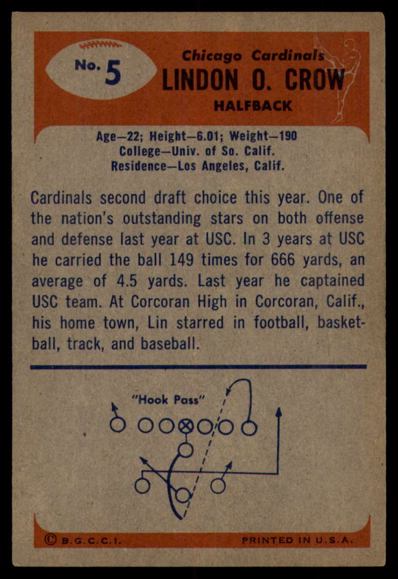 1955-Bowman-Football-1-70-Complete-your-set-Pick-your-card thumbnail 25