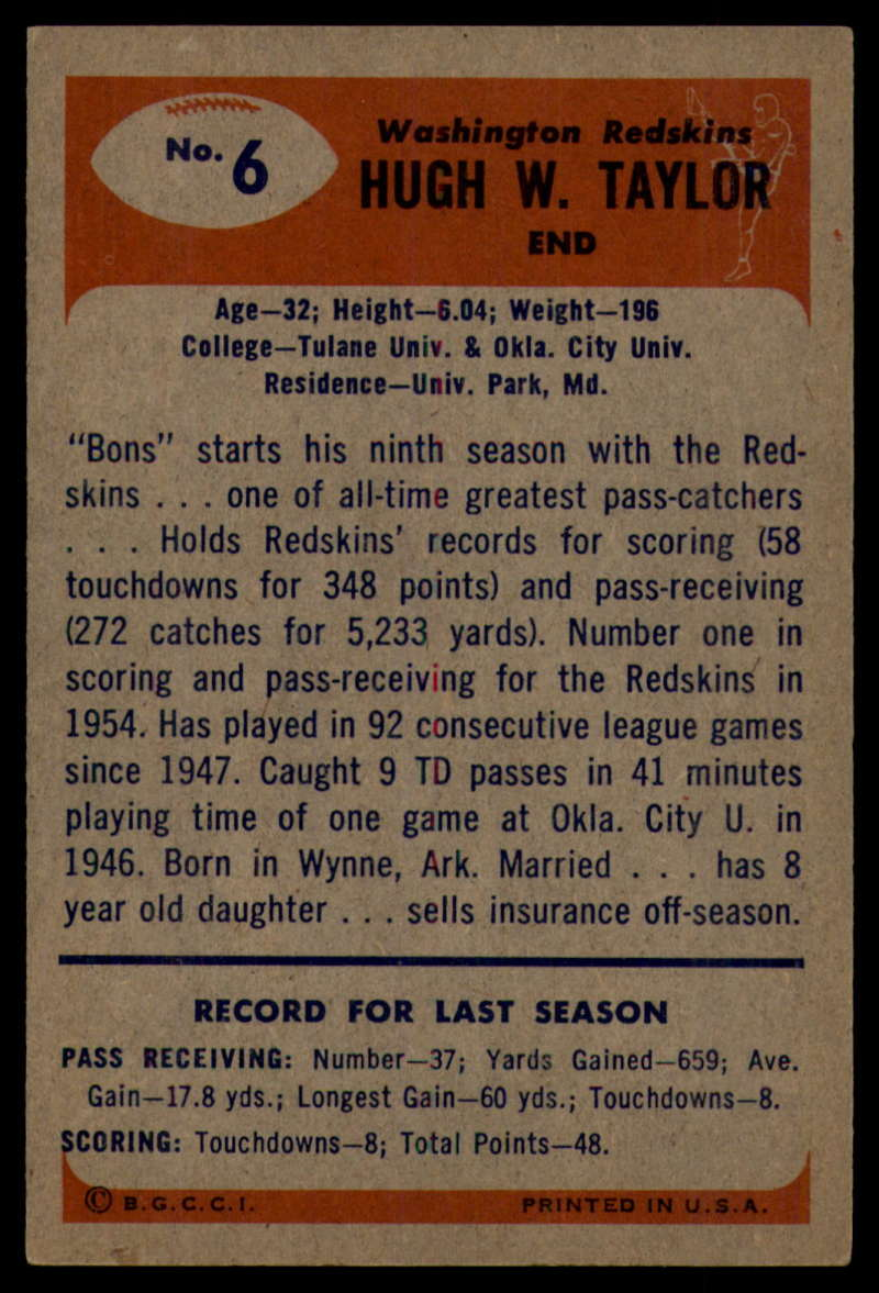 1955-Bowman-Football-1-70-Complete-your-set-Pick-your-card thumbnail 33