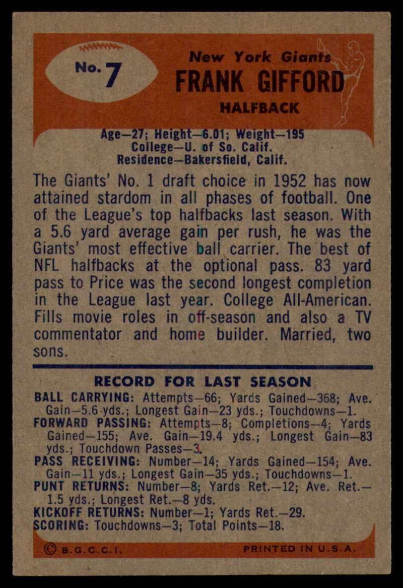 1955-Bowman-Football-1-70-Complete-your-set-Pick-your-card thumbnail 37