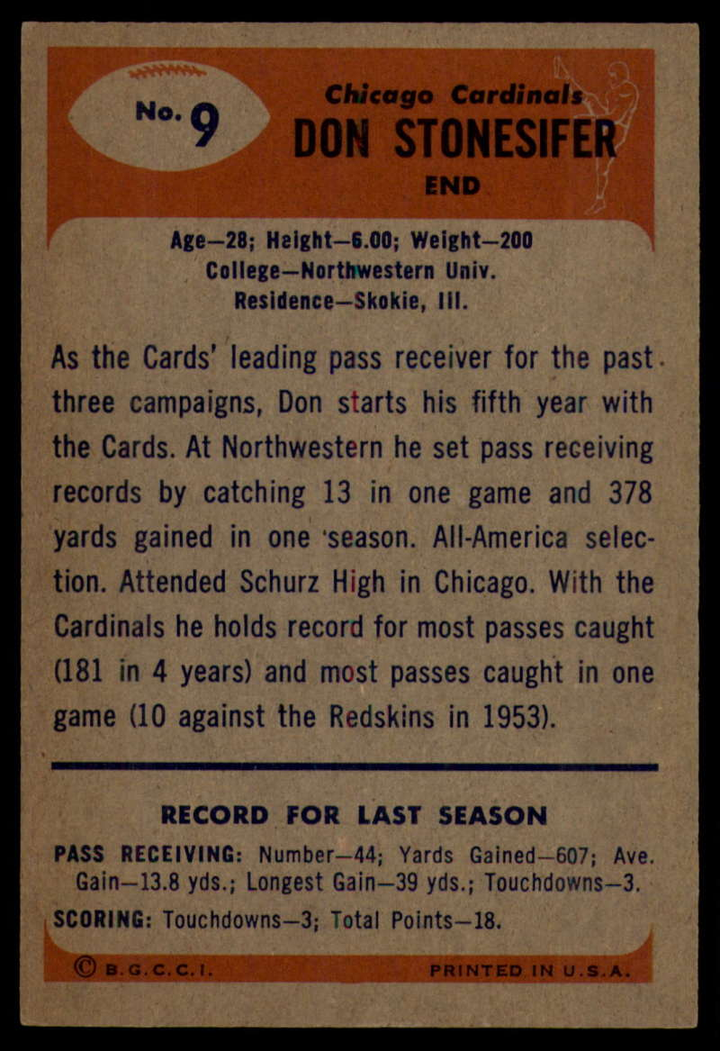 1955-Bowman-Football-1-70-Complete-your-set-Pick-your-card thumbnail 41