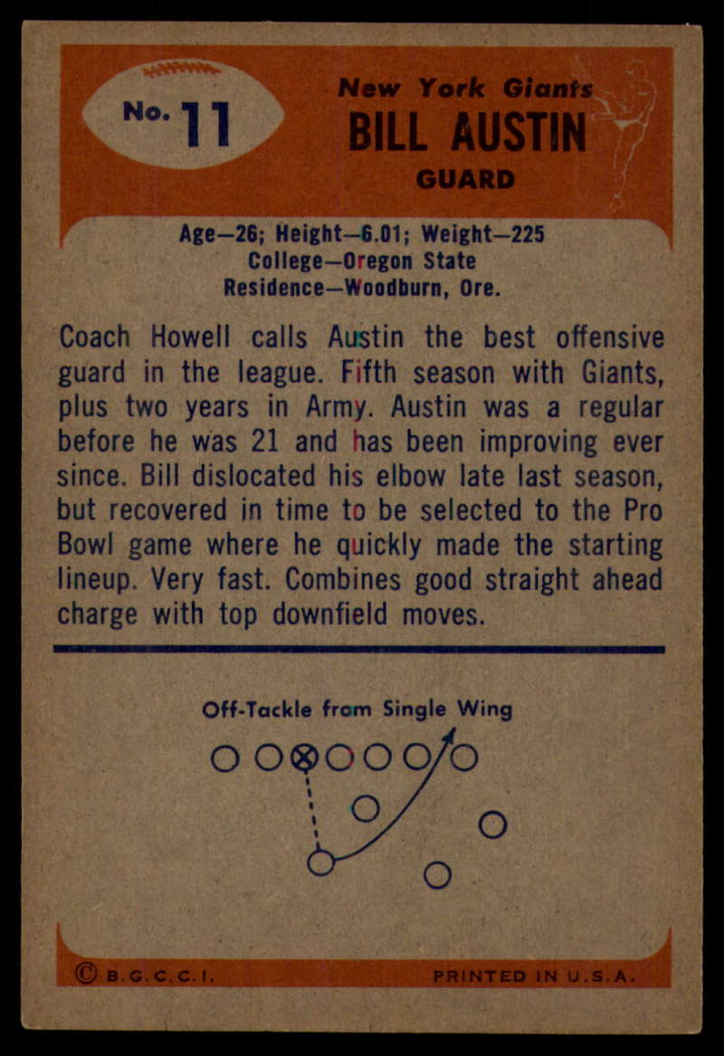 1955-Bowman-Football-1-70-Complete-your-set-Pick-your-card thumbnail 53