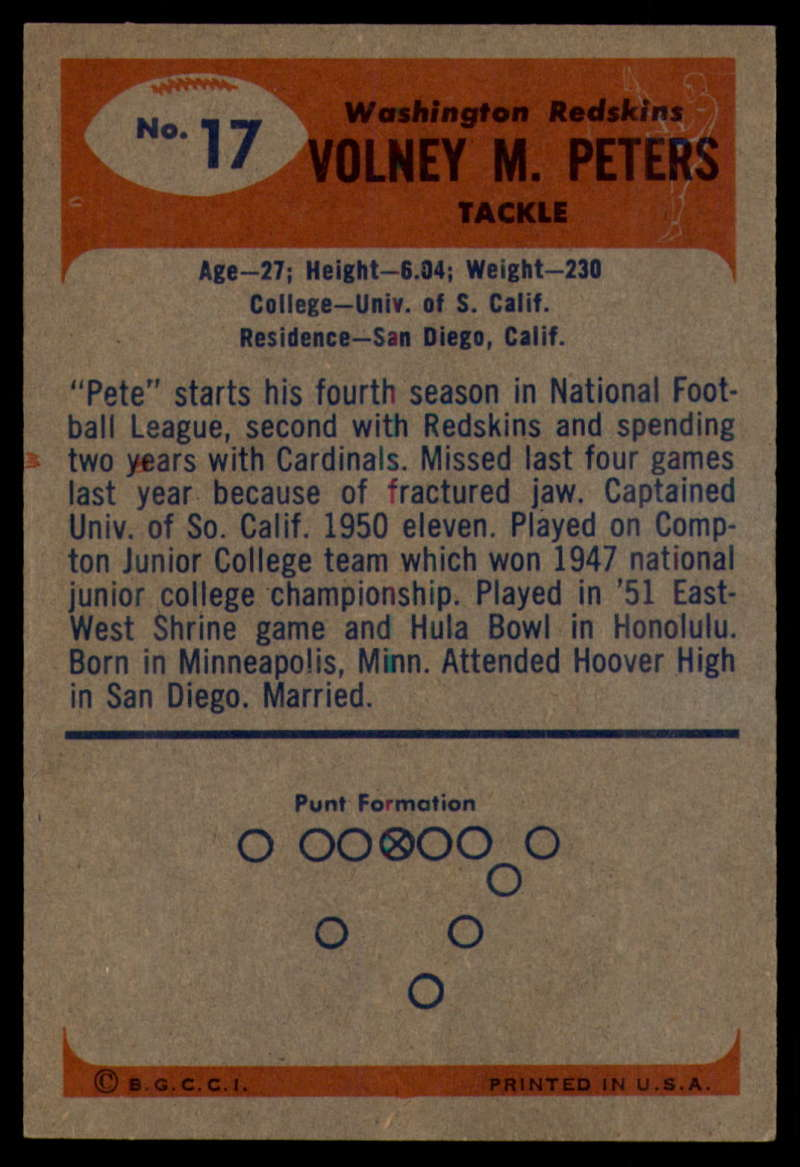 1955-Bowman-Football-1-70-Complete-your-set-Pick-your-card thumbnail 83