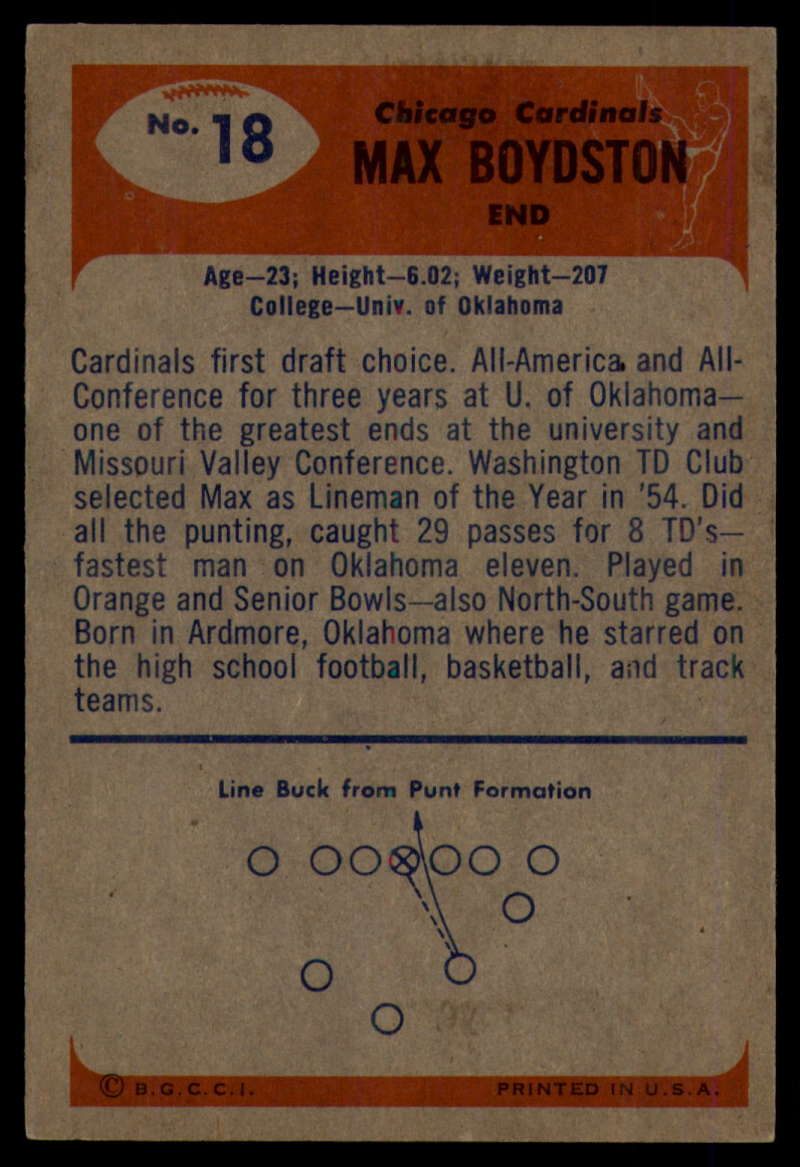 1955-Bowman-Football-1-70-Complete-your-set-Pick-your-card thumbnail 87