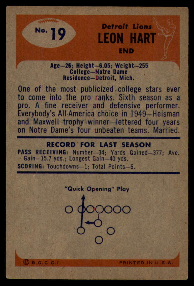 1955-Bowman-Football-1-70-Complete-your-set-Pick-your-card thumbnail 91