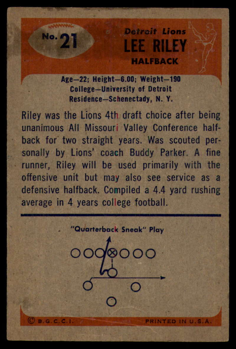 1955-Bowman-Football-1-70-Complete-your-set-Pick-your-card thumbnail 95