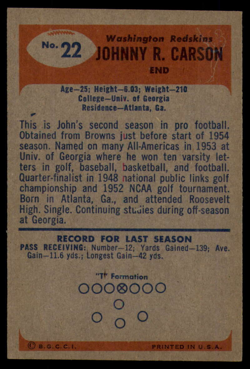 1955-Bowman-Football-1-70-Complete-your-set-Pick-your-card thumbnail 99
