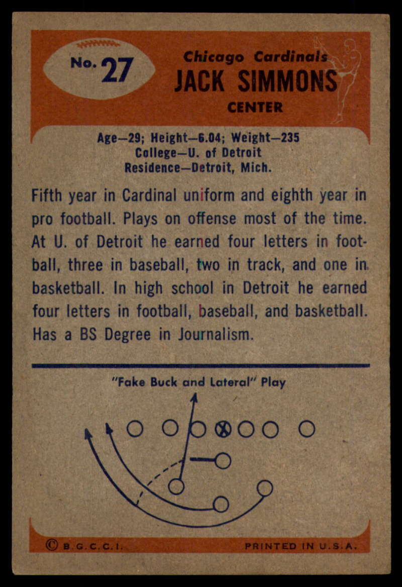 1955-Bowman-Football-1-70-Complete-your-set-Pick-your-card thumbnail 131
