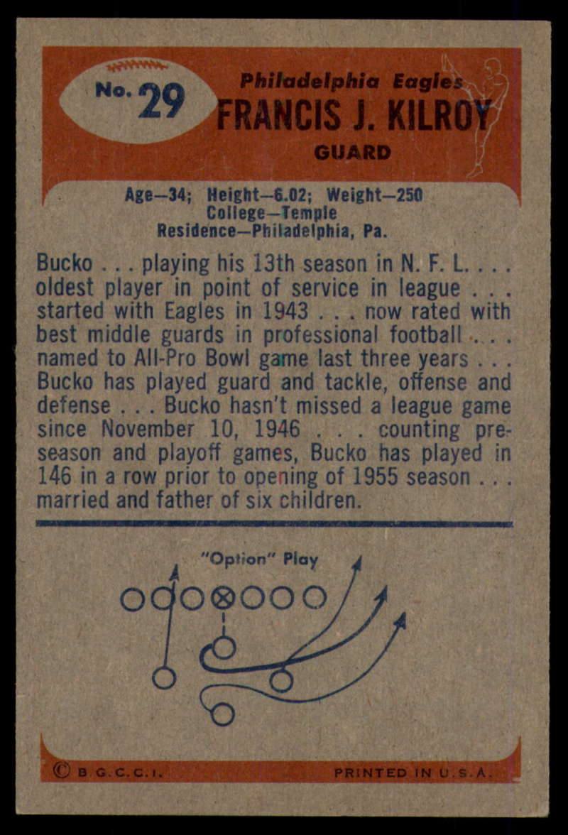 1955-Bowman-Football-1-70-Complete-your-set-Pick-your-card thumbnail 151