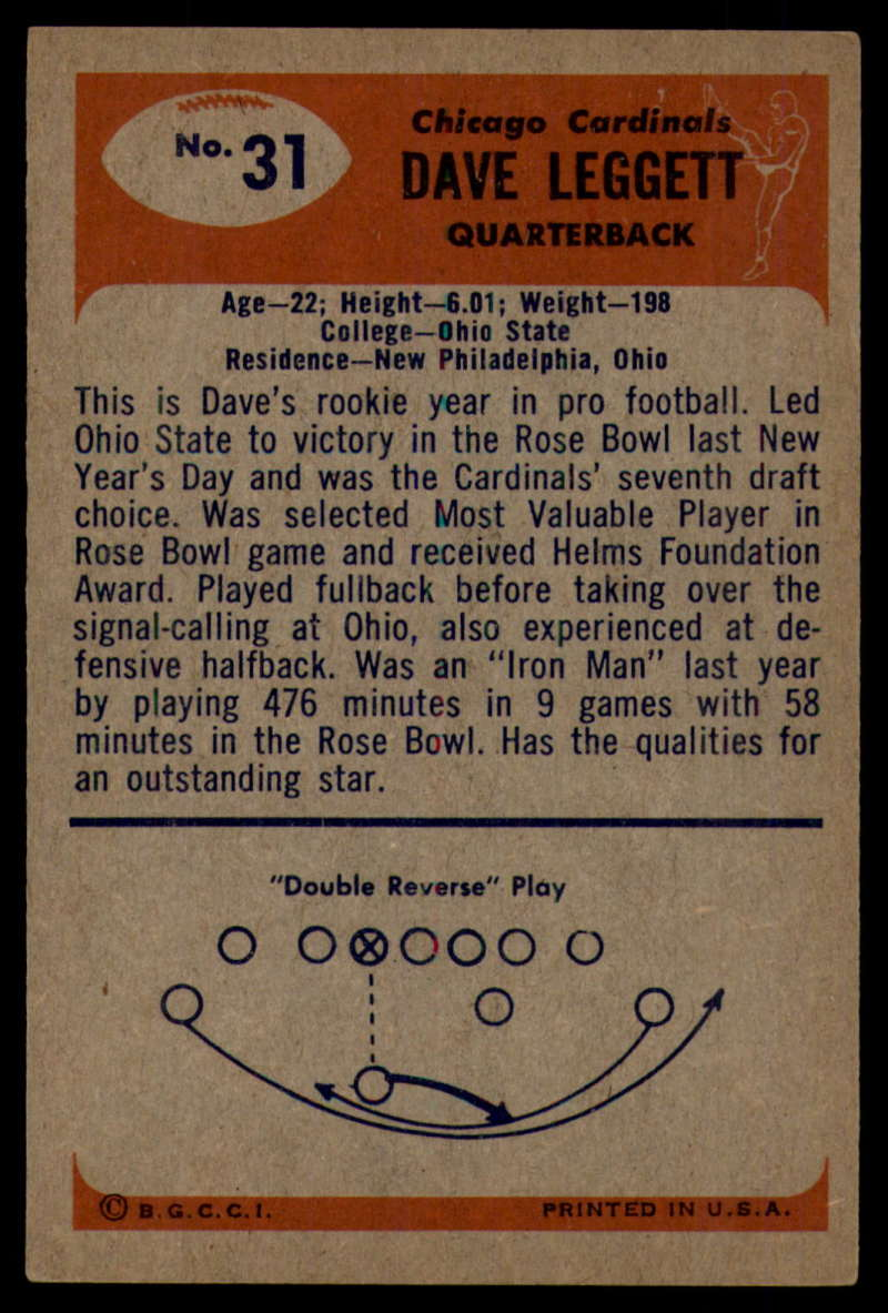 1955-Bowman-Football-1-70-Complete-your-set-Pick-your-card thumbnail 157