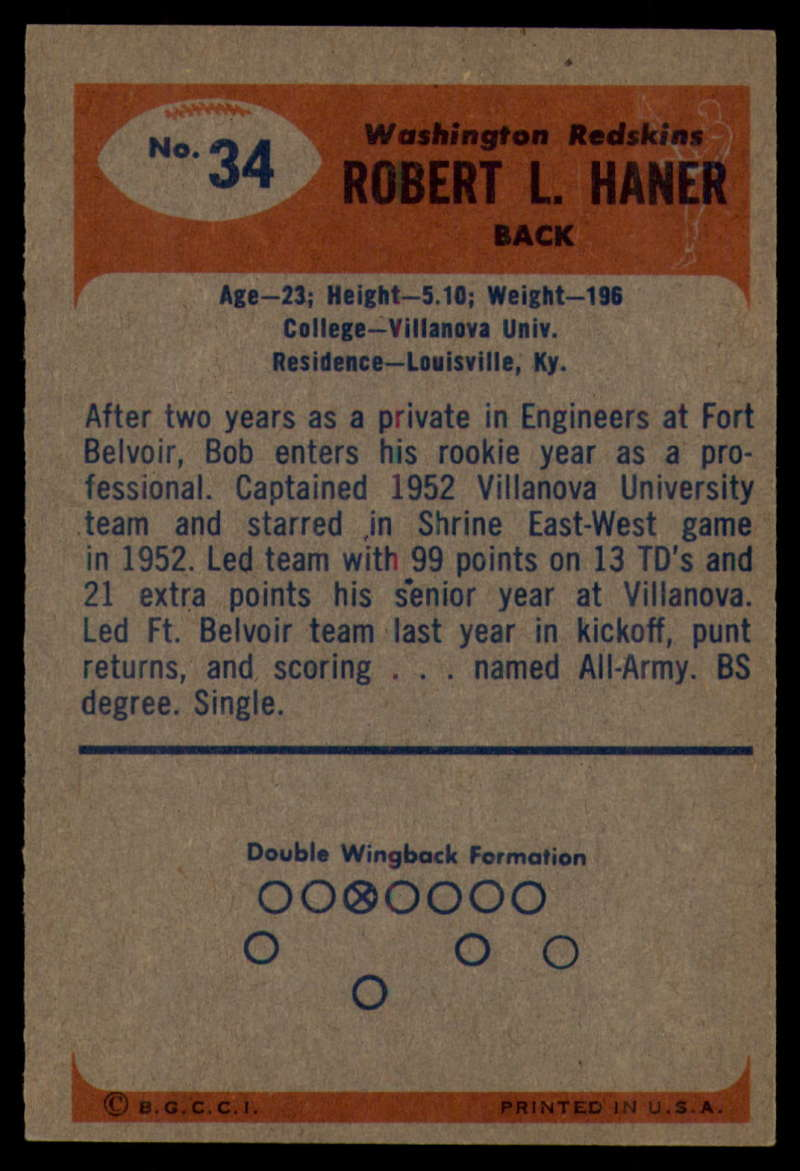 1955-Bowman-Football-1-70-Complete-your-set-Pick-your-card thumbnail 165