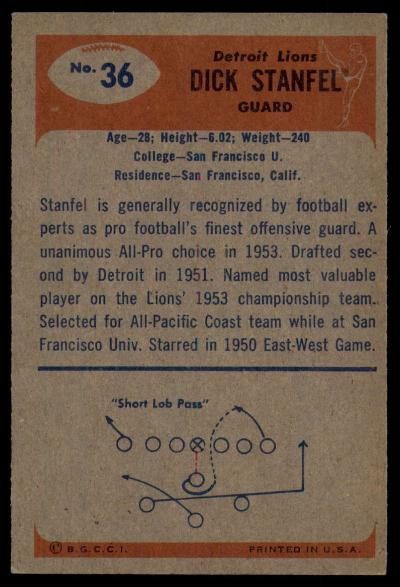 1955-Bowman-Football-1-70-Complete-your-set-Pick-your-card thumbnail 175