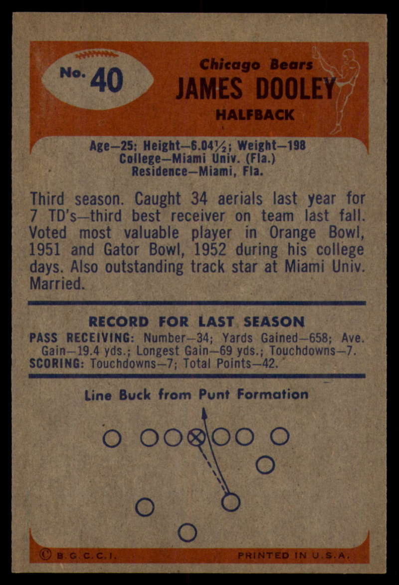 1955-Bowman-Football-1-70-Complete-your-set-Pick-your-card thumbnail 195
