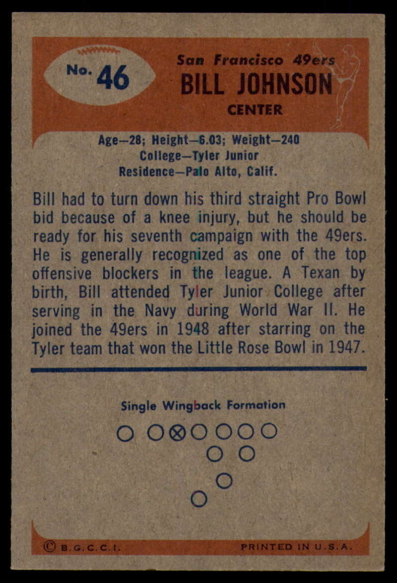 1955-Bowman-Football-1-70-Complete-your-set-Pick-your-card thumbnail 235