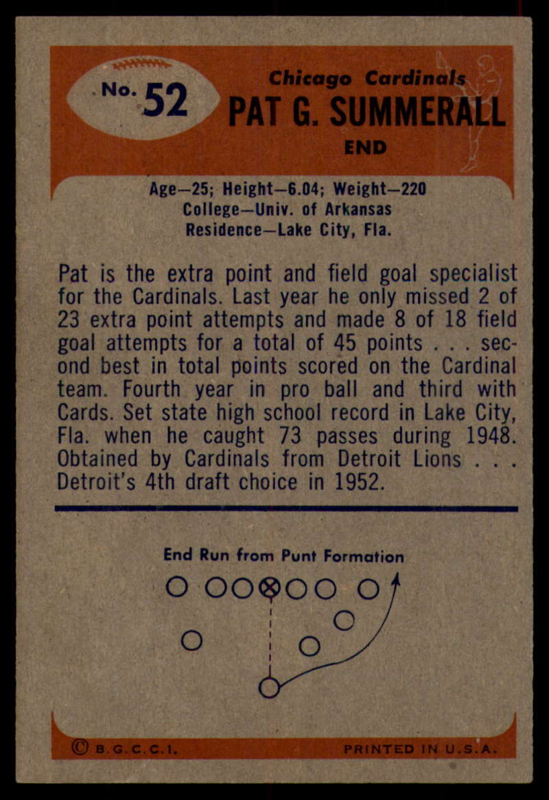 1955-Bowman-Football-1-70-Complete-your-set-Pick-your-card thumbnail 273