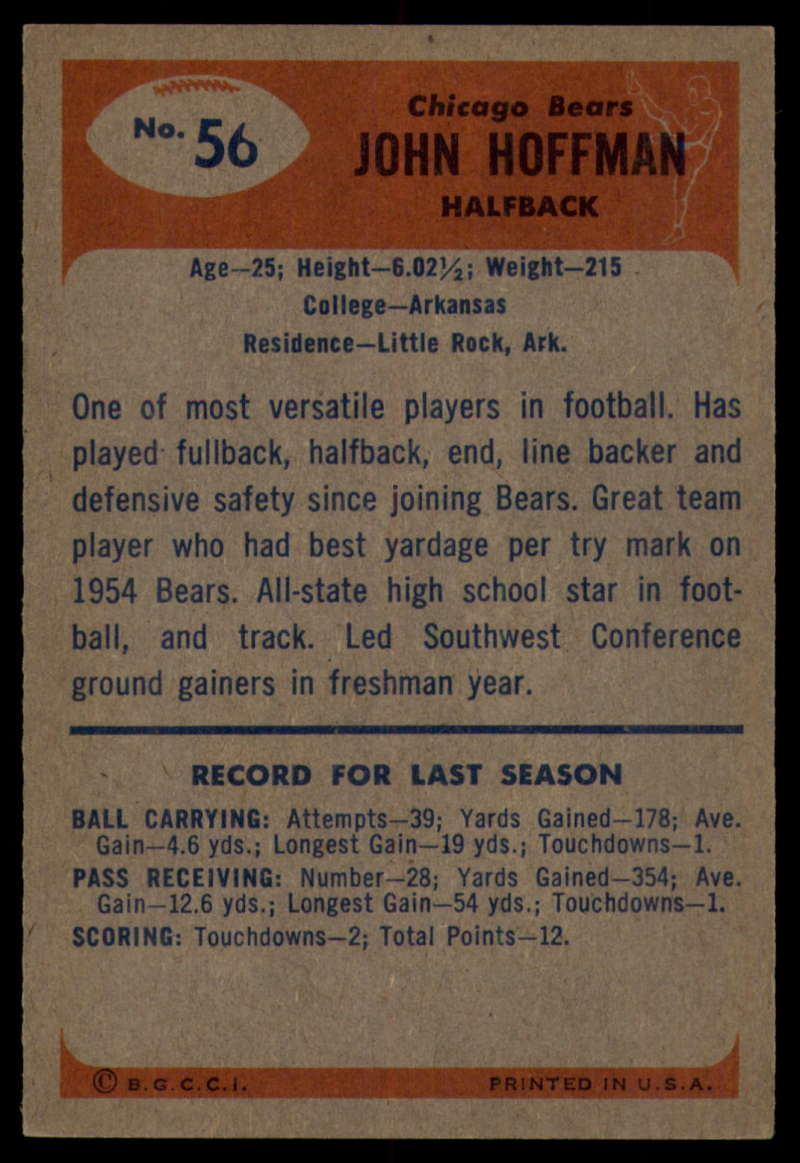 1955-Bowman-Football-1-70-Complete-your-set-Pick-your-card thumbnail 295