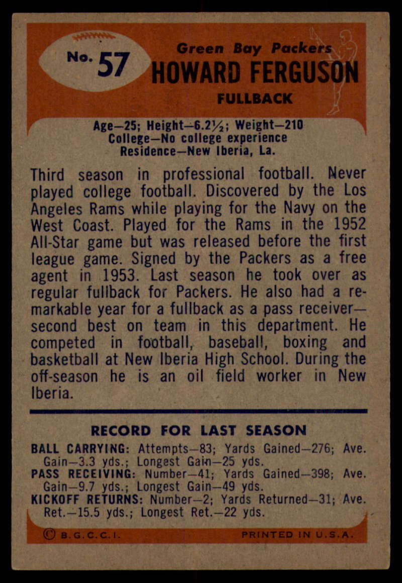 1955-Bowman-Football-1-70-Complete-your-set-Pick-your-card thumbnail 307