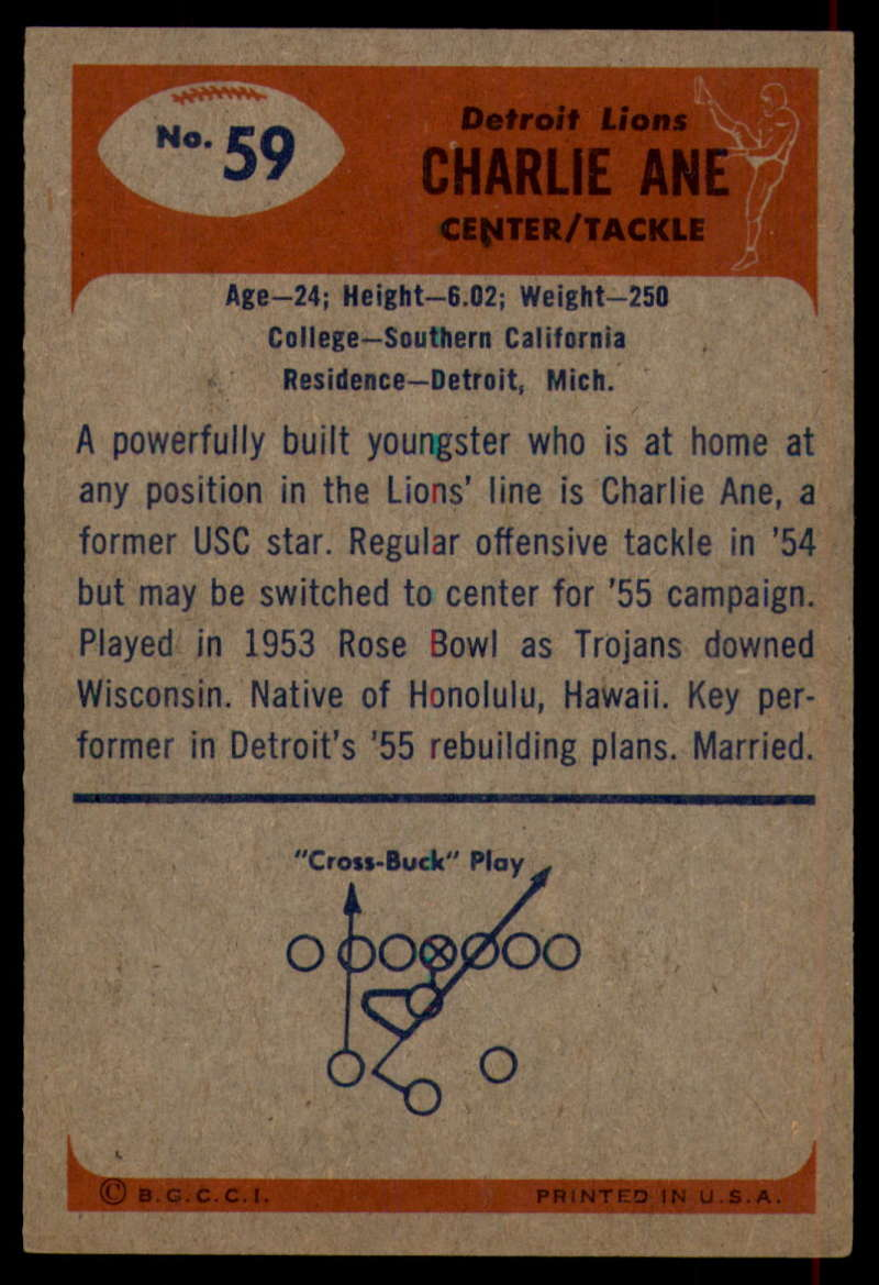 1955-Bowman-Football-1-70-Complete-your-set-Pick-your-card thumbnail 321