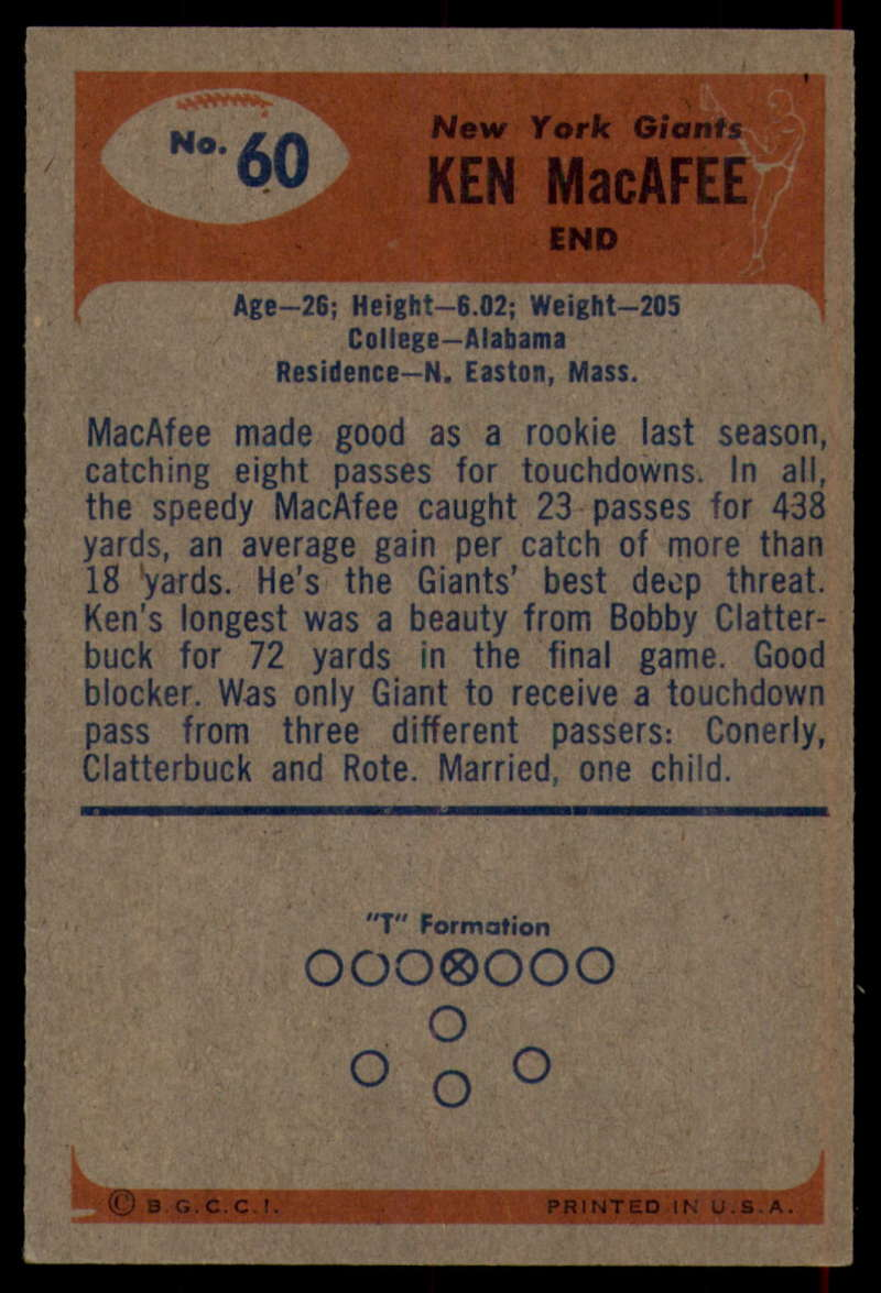1955-Bowman-Football-1-70-Complete-your-set-Pick-your-card thumbnail 331