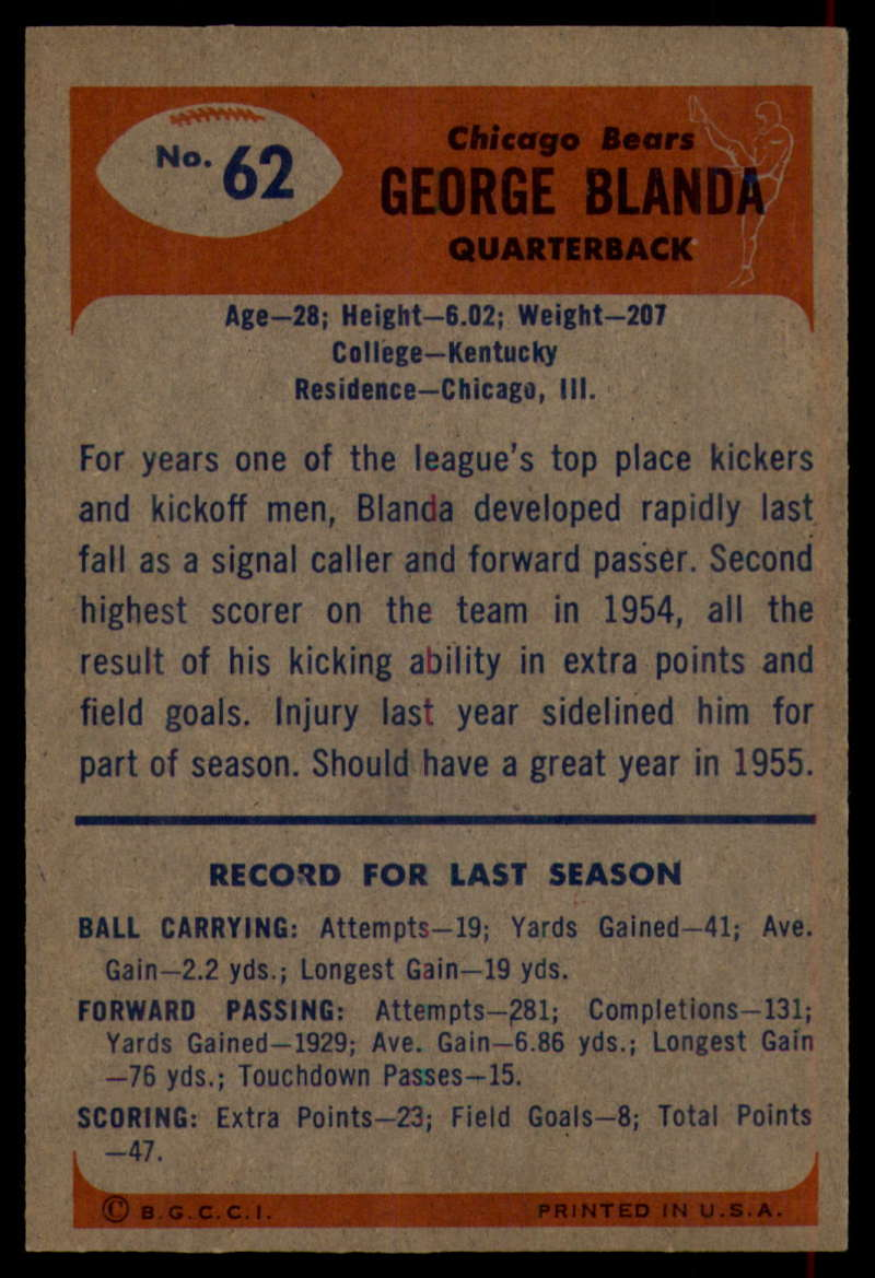 1955-Bowman-Football-1-70-Complete-your-set-Pick-your-card thumbnail 339