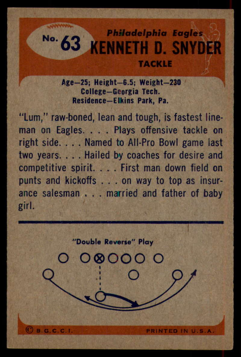 1955-Bowman-Football-1-70-Complete-your-set-Pick-your-card thumbnail 351