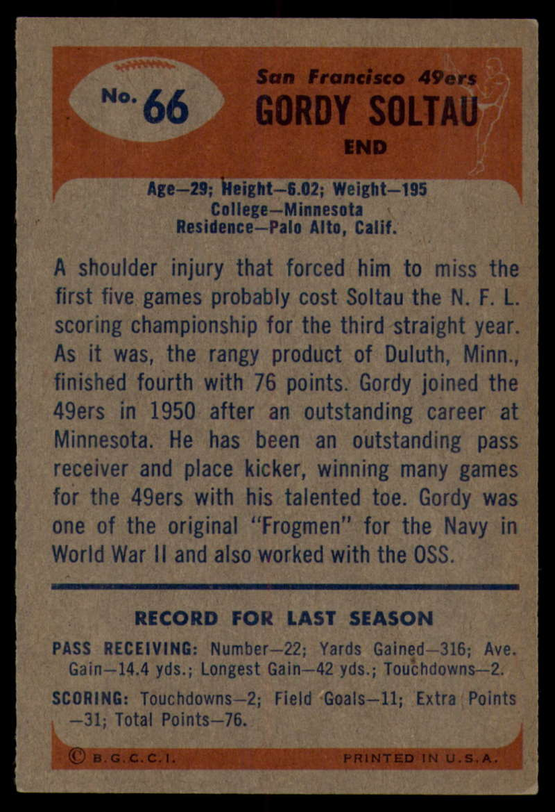 1955-Bowman-Football-1-70-Complete-your-set-Pick-your-card thumbnail 365